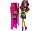 "Кукла Monster High ""Клодин Вульф со шкафом"" Школа Монстер Хай"