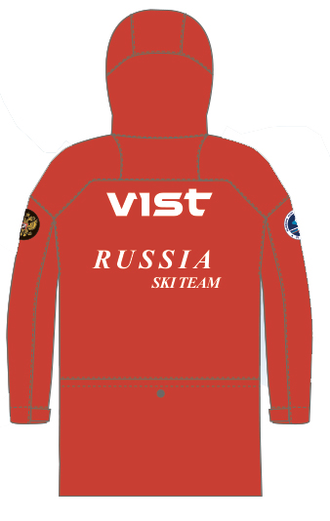 Плащ юниорский RUSSIAN TEAM VIST RAIN COAT Adjustable Junior