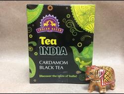 Чай черный с Кардамоном (Black Assam with Cardamon) Indian Bazar, 200 гр