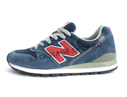 Кроссовки New Balance 996 Blue \ Red сетка