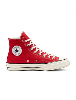 Кеды Converse (Конверс) Chuck 70 Vintage Canvas High-Top красные