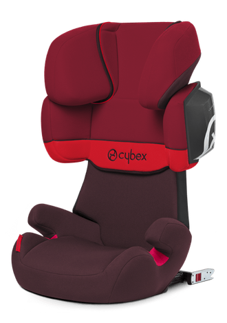 Cybex Solution X2-fix Rumba red