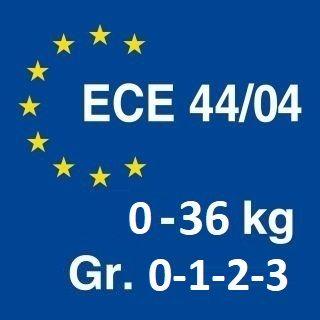 ECE R44 — это правила, определяющие параметры удерживающих устройств для детей,