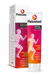 Flekosteel warming body balm