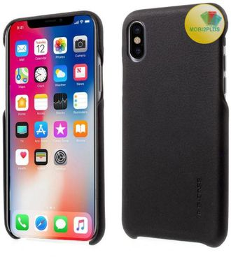 Кожаная накладка G-Case Noble Series Apple iPhone X