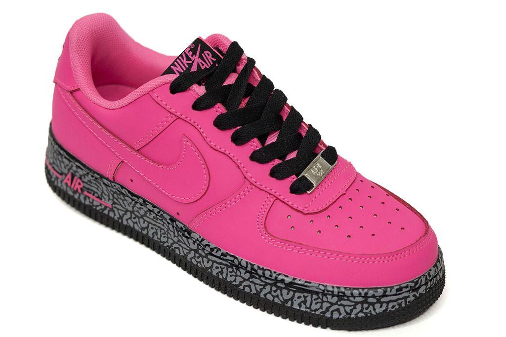 317352ec0a5c Купить женские кроссовки Nike Air Force 1 Розовые низкие