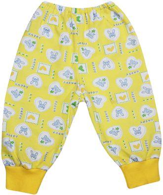 Ползунки-штанишки (Артикул 714-043) цвет желтый