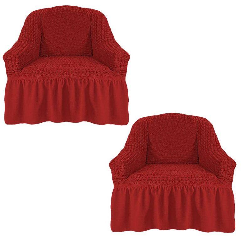 Чехлы на 2 кресла, Кирпичный 223
