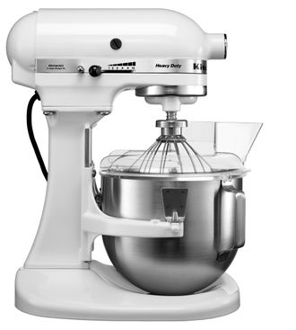 Миксер профессиональный, Heavy Duty, чаша 4,8 л., белый, 5KPM5EWH, KitchenAid