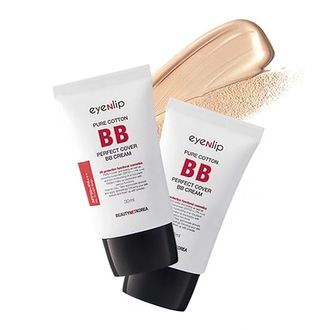 Eyenlip, ББ крем Pure Cotton Perfect Cover BB Cream (SPF50+/PA+++)