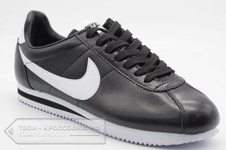 2878088a Купить кроссовки Nike Cortez черно-белые мужские арт. N473 в Спб