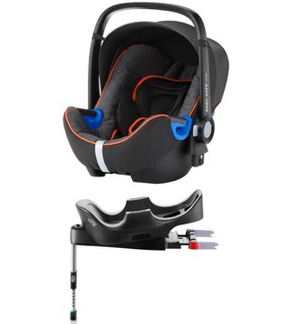 Britax roemer baby-safe i-size и база flex Black Marble