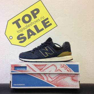 New Balance 996 Navy - Gold