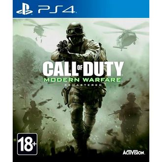 Игра для ps4 Call of Duty: Modern Warfare Remastered