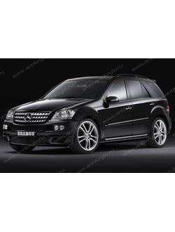 Обвес BRABUS ON ROAD на Mercedes benz ML W164