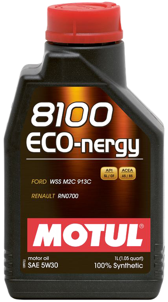 Масло моторное MOTUL 8100 Eco-nergy 5W-30 1л 102782
