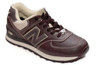 New Balance 574 Brown Leather
