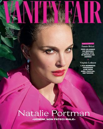 VANITY FAIR Italia Magazine February 2019 Natalie Portman Cover Иностранные журналы, Intpressshop