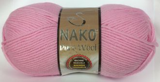 Nako Pure Wool 6936 розовый