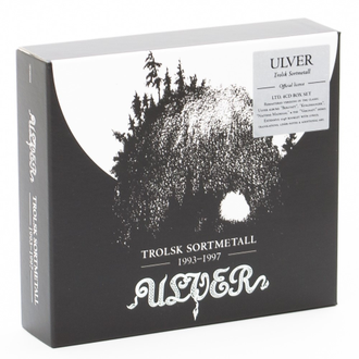 Ulver - Trolsk Sortmetall 1993-1997 (Re-issue 2019) 4-CD BOX