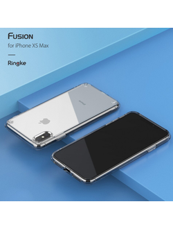 ЧЕХОЛ НА APPLE IPHONE XS Max, RINGKE СЕРИЯ FUSION, ЦВЕТ ПРОЗРАЧНЫЙ (CLEAR)