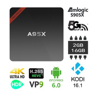 ТВ приставка Nexbox A95X Amlogic Android TV Box