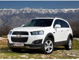 Chevrolet Captiva, II поколение (09.2013 - 09.2015)