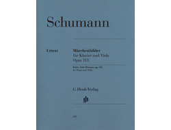 Schumann Fairy - Tale Pictures op. 113 for Piano and Viola
