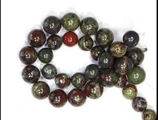 Бусина Яшма Кровь дракона, шар 12,5 мм (1 шт) №18353