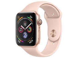 Apple Watch Series 4 44mm Aluminum Case with Sport Band (Золотистый)