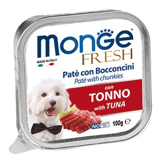 Monge Dog Fresh / консервы для собак тунец 100 г