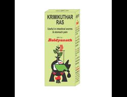 Кримикутхар Рас от паразитов (Krimikuthar Ras) Baidyanath, 80 таб.