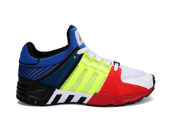 Adidas EQT Running Support 93 Blue/Green/Red сине-зелено-красные