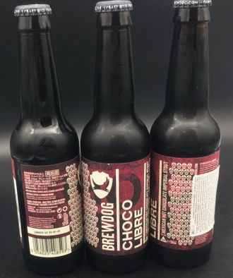 Пиво BrewDog Choco Libre Mexican Hot  8.2% ABV  25 IBU  0,33л