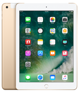 Apple iPad 128gb WiFi+Cellular Gold