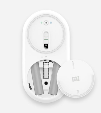 Компьютерная мышь Xiaomi Mi Mouse Bluetooth серебристая