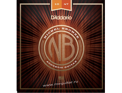 D'Addario NB1047 Nickel Bronze (10-47)
