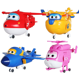 Супер Крылья(Super Wings),набор из 4-х героев-1
