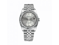 Rolex Datejust Men's Stainless Steel Watch Silver Dial
