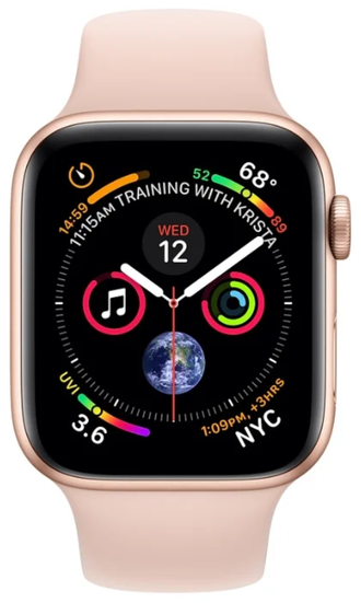 СМАРТ-ЧАСЫ Apple Watch Sport 5 series 40mm rose gold