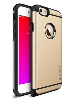 Чехол на Apple iPhone 6S+ и 6+, Ringke серия Max, цвет золотистый (Royal Gold)