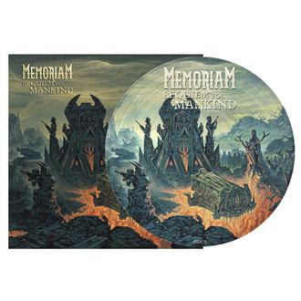 MEMORIAM - Requiem for mankind LP Pic