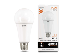 Gauss Elementary LED A67 35w 830/840/865 E27