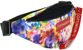 Сумка на пояс Optimum Mini Print RL, космея