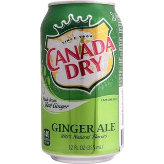 Canada Dry Ginger Ale, 330 мл