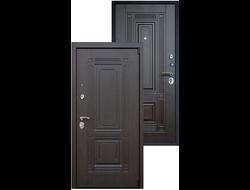 Стальная дверь «Викинг без зеркала» Венге