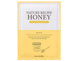 Маска тканевая медовая Nature Recipe Mask Pack_Honey 20гр