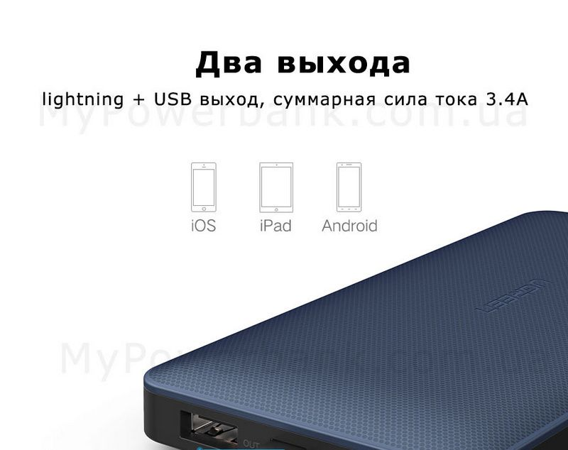 Powerbank Ugreen 10000mAh MFi для iPhone - отзывы