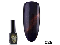Гель-лак Global Fashion cat eye C26