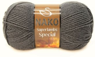 Nako Superlambs special 193 темно-серый